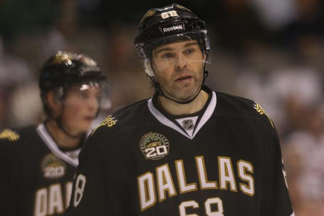 Old Man and the Stars: Jaromir Jagr Embraces Leading Role in Dallas