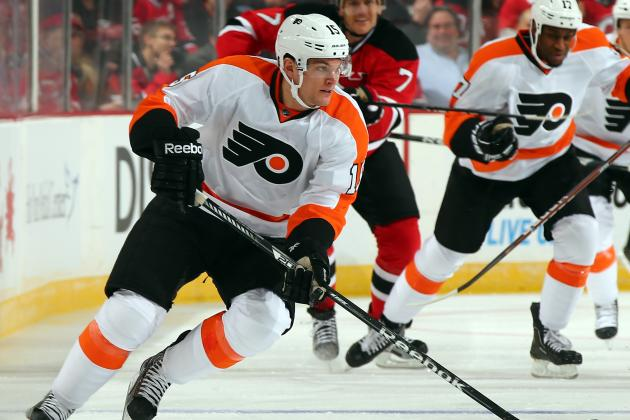 Flyers Recall Left Wing Tye McGinn