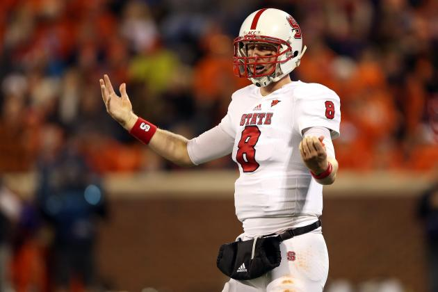 Mike Glennon Senior Bowl: NC State QB's NFL Draft Stock Is Plummeting