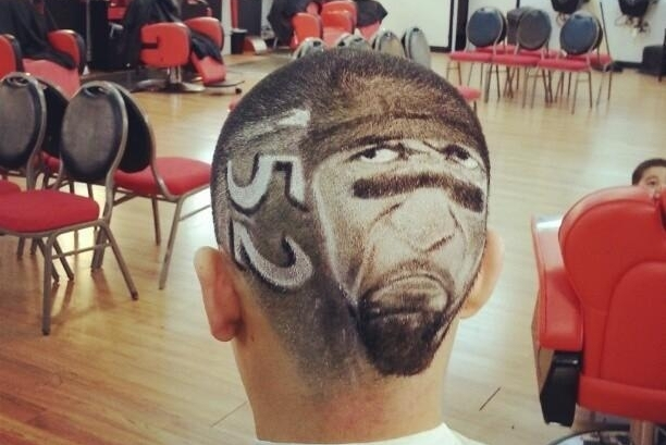 Ravens' Ray Lewis Inspires Yet Another Horrible Haircut
