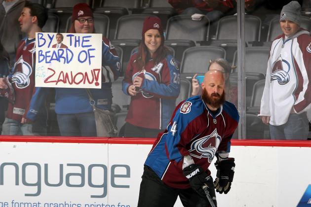 Greg Zanon Talks About His Wild Beard