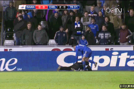 Chelsea's Eden Hazard Sent off After 'Kicking' at a Swansea Ball Boy