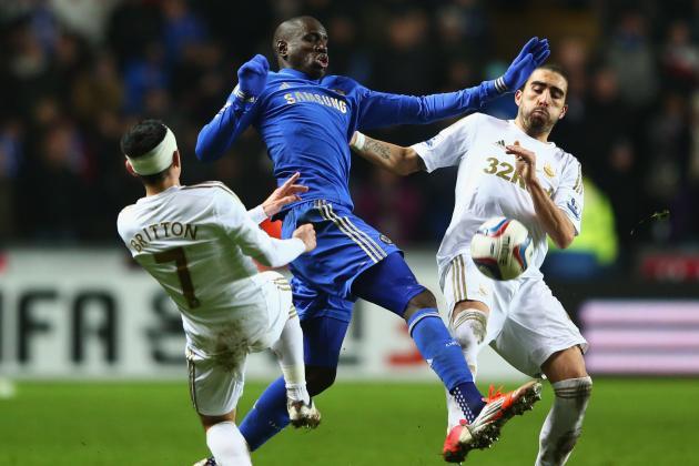 Swansea 0-0 Chelsea (2-0)