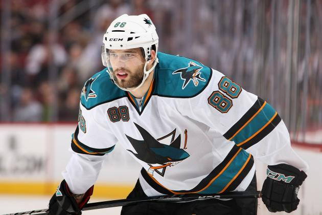 Sharks Place Burns on IR to Make Room for Gomez