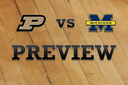 Purdue vs. Michigan: Full Game Preview