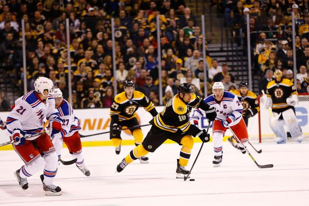 Boston Bruins vs. NY Rangers: Live Score, Updates and Analysis