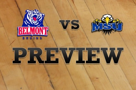 Belmont vs. Morehead State: Full Game Preview