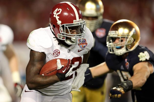 NFL Draft 2013: Teams That Must Find an Impact RB in This Year's Draft