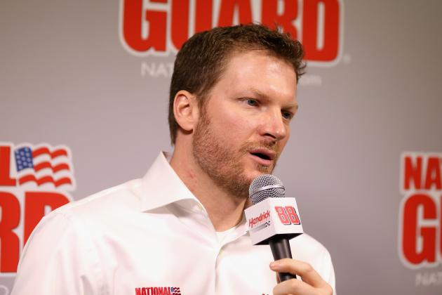 Dale Earnhardt Jr. Embarrassed over Causing Wreck During Testing at Daytona