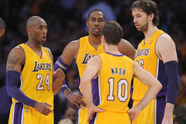 Lakers 'Went at Each Other a Little Bit' in Morning Meeting
