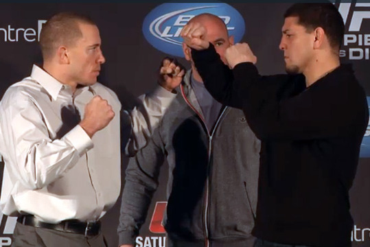 Kinder, Calmer Nick Diaz Takes the Wind out of UFC 158's Sails