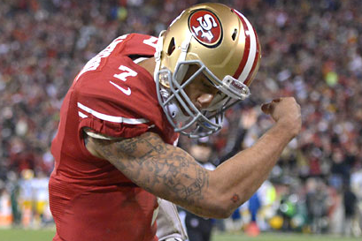 Colin Kaepernick Trademarking Signature Pose Name