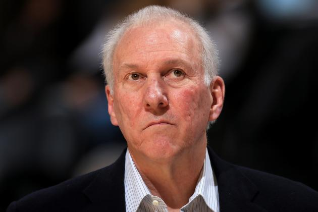 Popovich Will Not Coach vs. Hornets Due to Illness