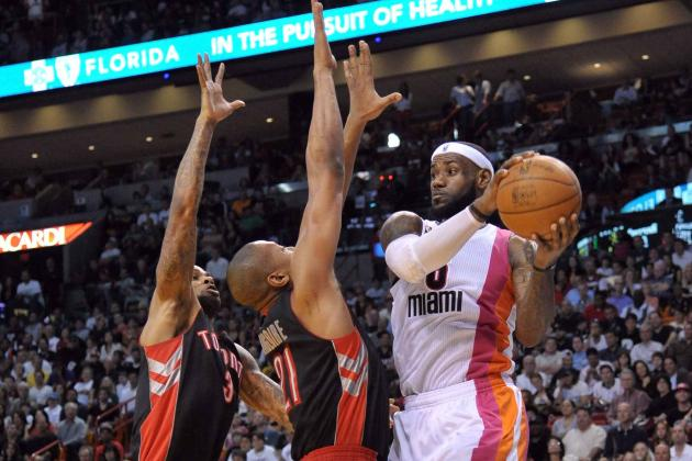 Heat Beat Raptors 123-116 in OT