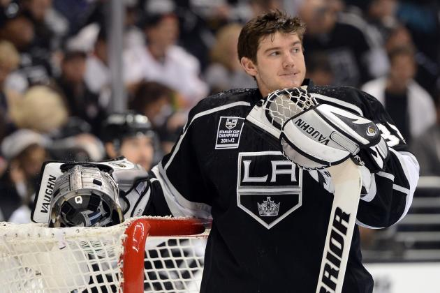Jonathan Quick and NHL Goalies Cold as Ice to Start Shortened Season