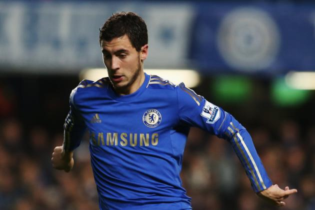 Frustrated Chelsea Star Eden Hazard Faces Five-Match Suspension