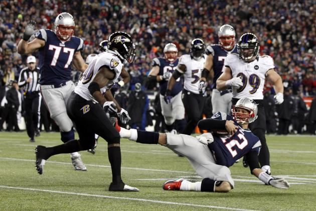 Tom Brady Reportedly Fined $10K for Slide in AFC Championship Game
