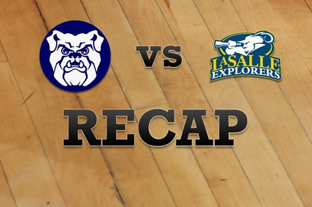 Butler vs. La Salle: Recap and Stats