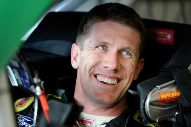 NASCAR: Will 2013 Put That Familiar Smile Back on Carl Edwards' Face?