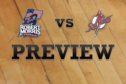 Robert Morris  vs. St. Francis (PA): Full Game Preview