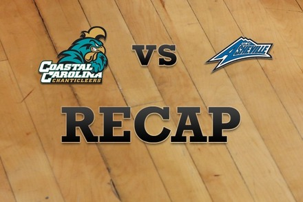 Coastal Carolina vs. UNC Asheville: Recap and Stats