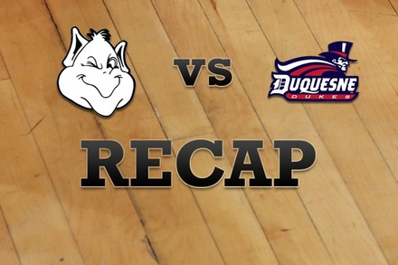 Saint Louis vs. Duquesne: Recap and Stats
