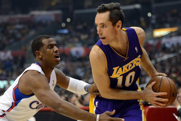 LA Lakers Need to Stop Wasting Steve Nash's Offensive Game
