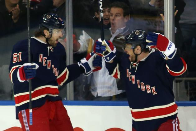 Gaborik's OT Winner for Rangers Caps Hat Trick