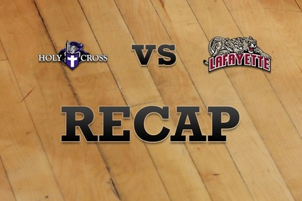 Holy Cross vs. Lafayette: Recap and Stats