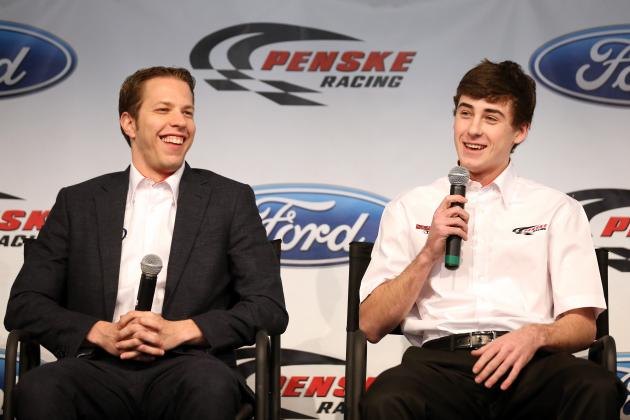 Blaney, 19, Debuts on Penske Stage