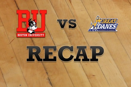Boston University vs. Albany: Recap and Stats