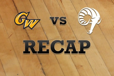 George Washington vs. Rhode Island: Recap and Stats