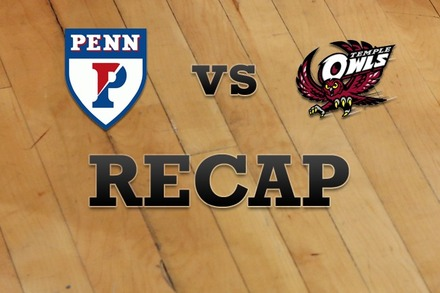 Penn vs. Temple: Recap and Stats