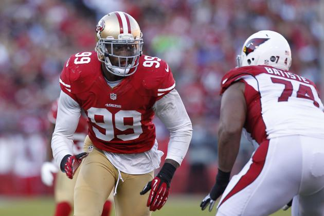 Aldon Smith's Sackless Streak Doesn't Bother Defensive Coordinator Vic Fangio