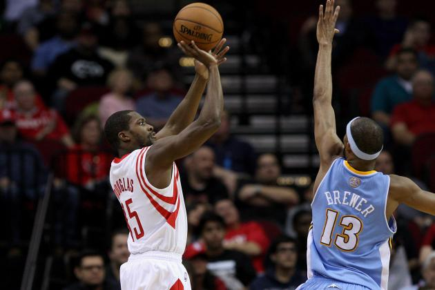 Nuggets Run over Rockets in Second Half