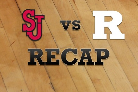 St John's vs. Rutgers: Recap and Stats