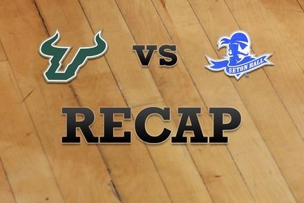 South Florida vs. Seton Hall: Recap and Stats