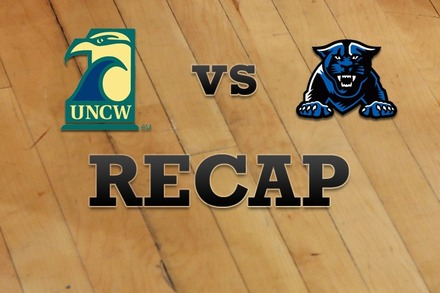 UNC Wilmington vs. Georgia State: Recap and Stats