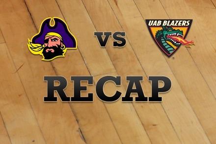 East Carolina vs. UAB: Recap and Stats
