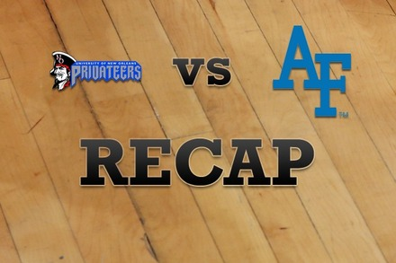 New Orleans vs. Air Force: Recap and Stats