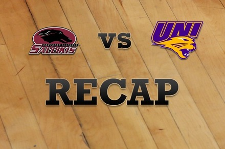 Southern Illinois vs. Northern Iowa: Recap and Stats