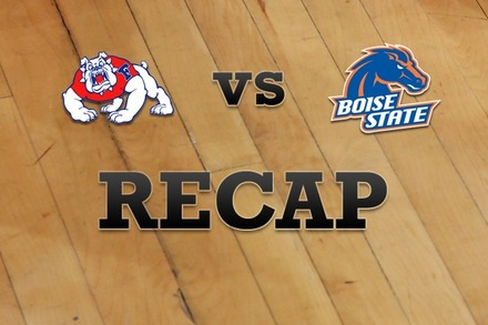 Fresno State vs. Boise State: Recap and Stats