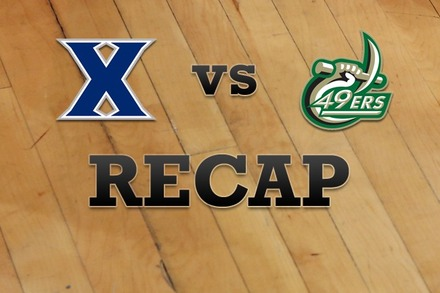 Xavier vs. Charlotte: Recap and Stats
