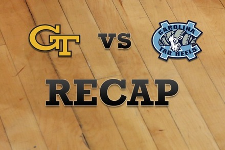 Georgia Tech vs. North Carolina: Recap and Stats