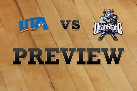 Texas-Arlington vs. Utah State: Full Game Preview