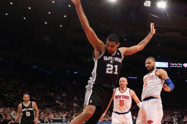 Spurs Notebook: Duncan Doesn't Expect to Miss Much Time