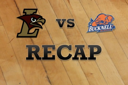 Lehigh vs. Bucknell: Recap and Stats