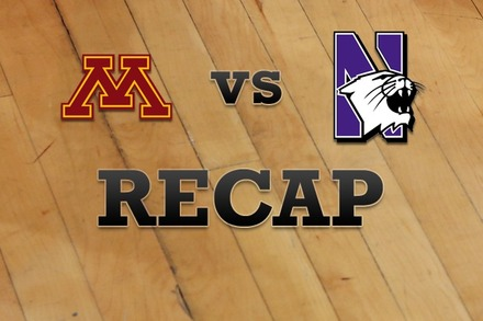 Minnesota vs. Northwestern: Recap and Stats