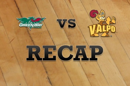 Green Bay vs. Valparaiso: Recap and Stats