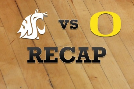 Washington State vs. Oregon: Recap and Stats